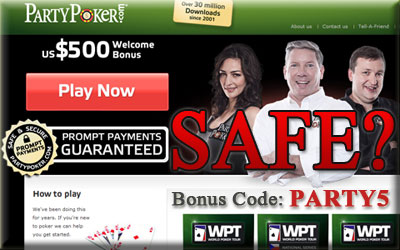 Is Party Poker Safe